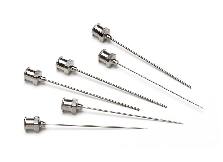 Needles Metal Hub Luer Lock