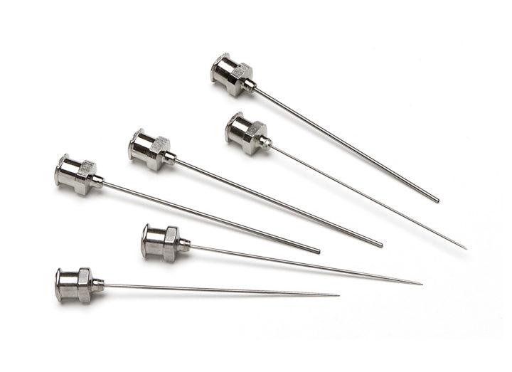 Needles Metal Hub Luer Lock