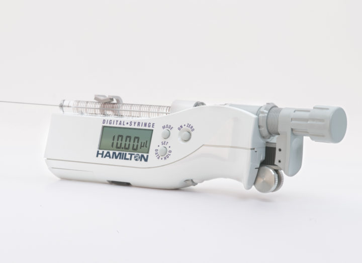 Digital Syringe Dispensers by Hamilton Company
