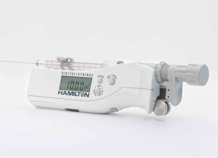 Digital Syringe Dispensers by Hamilton Company