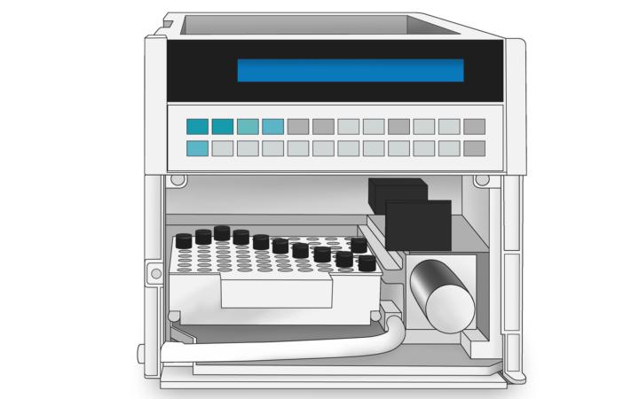 Syringe Hplc Hitachi Autosampler Drawing