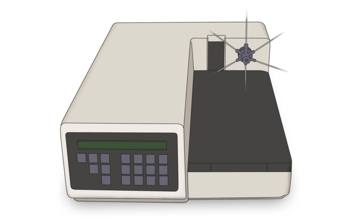 Syringe Hplc Kontron Autosampler Drawing