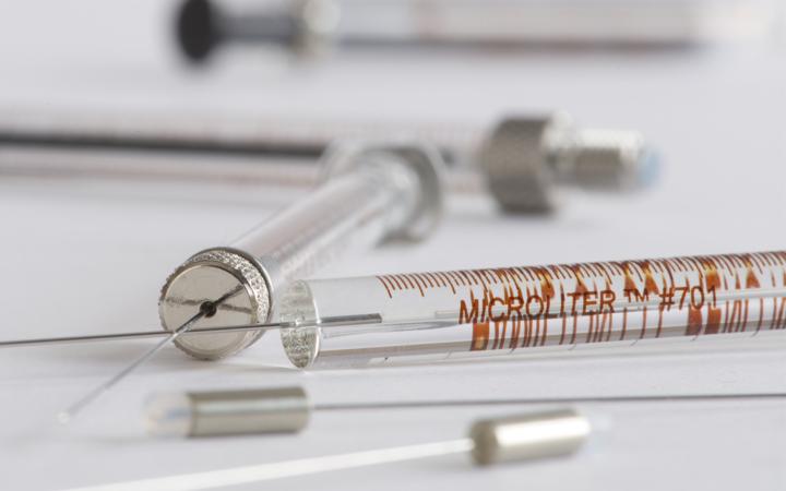 Syringe Microliter Cemented Needle