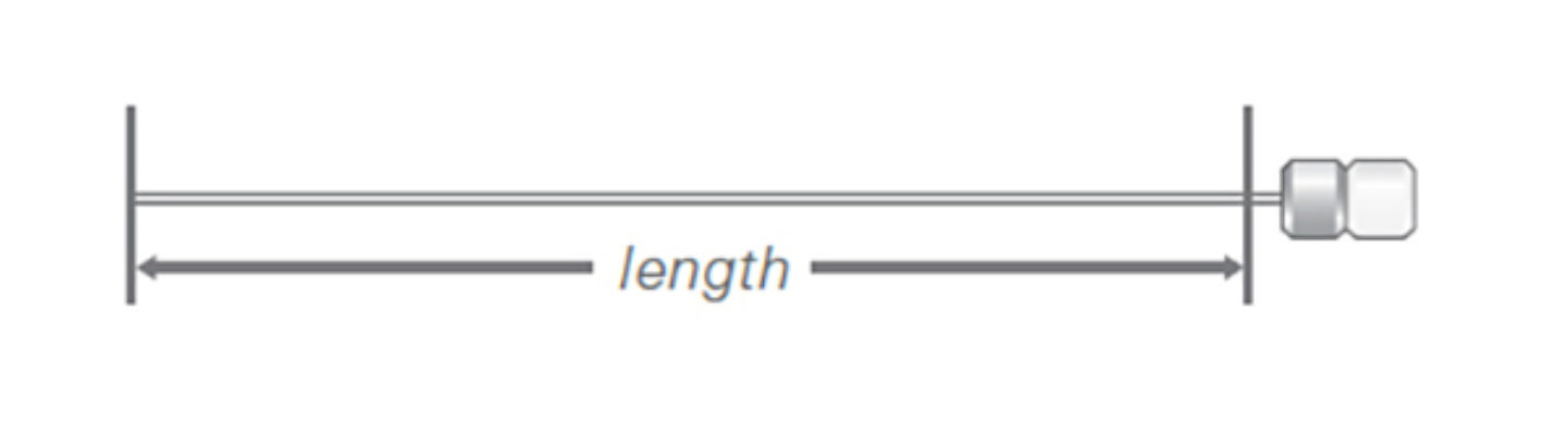 Needle Length Removable Needle